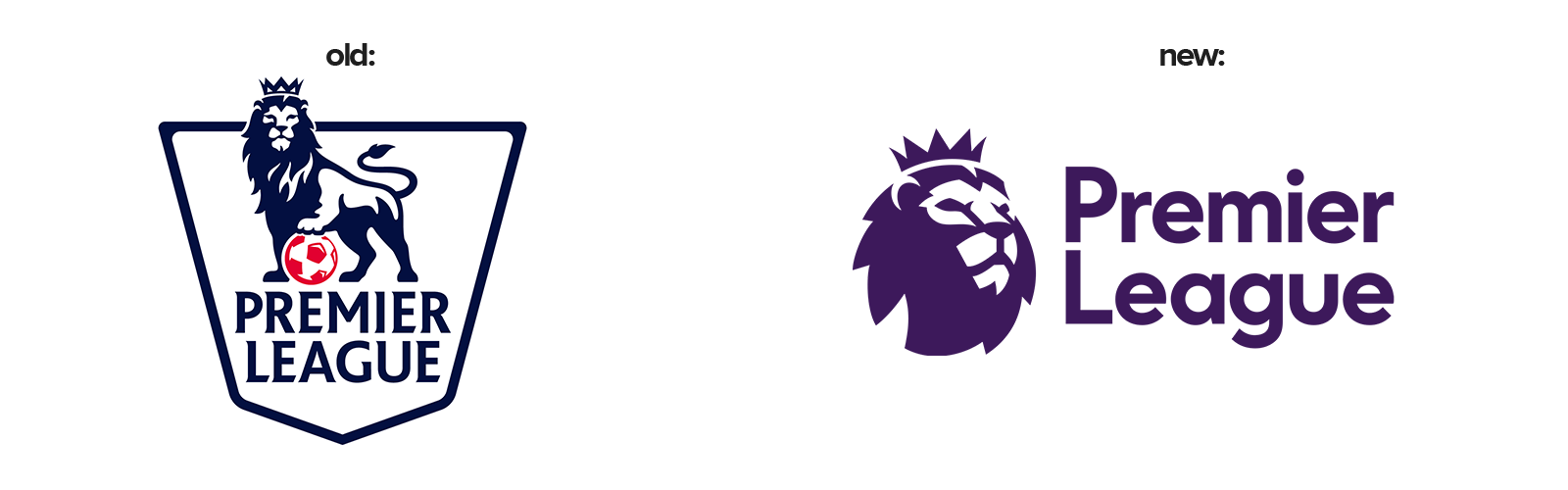 Premier League 2016 rebrand